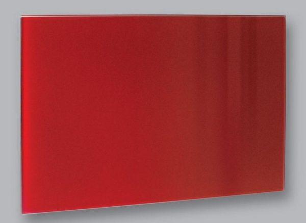 Skleneny infrapanel cerveny