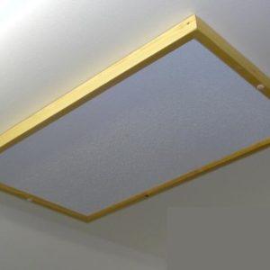 Infrapanel s dreveným rámom 500W